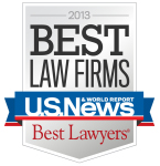 2013 Best Lawyers US News and World Report